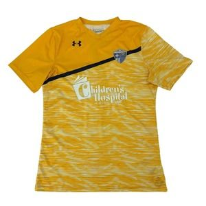 Tactical FC Soccer Jersey Men Size M Childrens Hospital of Nevada Under Armour